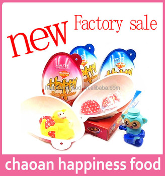 Happy surprise eggs cartoon toy candy