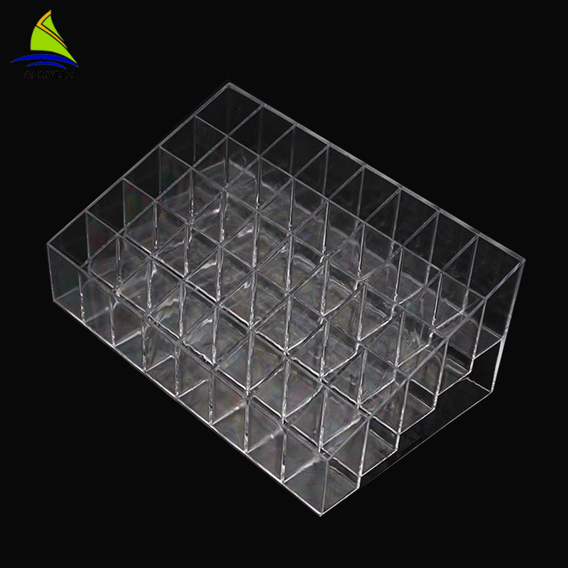 Wholesale custom size clear acrylic lipstick holder