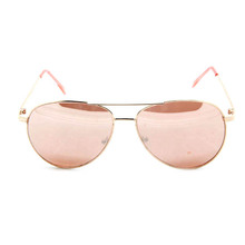 YJ-W1216 Pink lady sunglasses gold rose sunglasses