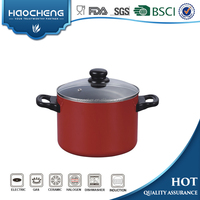 Aluminum Non-stick kitchenware stock pot Casserole Sauce pot