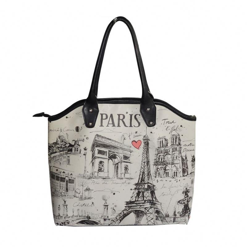 Souvenir Paris Tote Bag