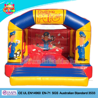 Inflatable cartoon combo bouncer