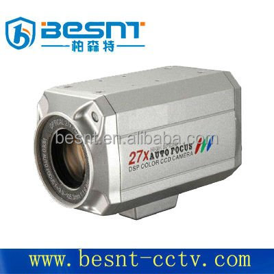 Top 10 besnt 27X Zoom 1/4 SONY CCD COLOR ZOOM BOX CCTV Camera BS-27P