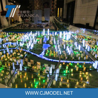 Large size urban planning model , fantastic architectural lighting for government projects