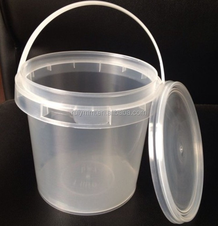 Clear Plastic Round Containers jacuzzis pots with Lids Microwave Food Safe TAKEAWAY