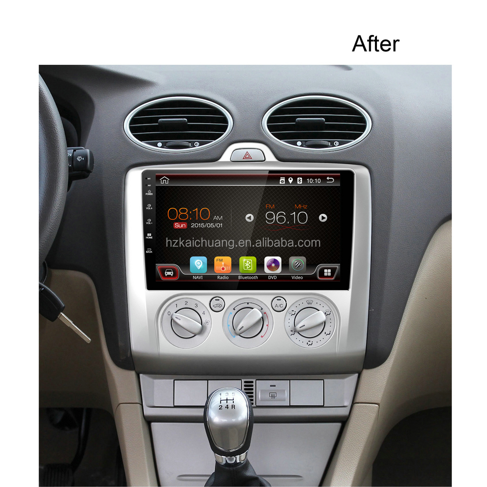 2016 9 Inch Car Navigation with Colorful LED and Rear Camera Input for Route Navigation