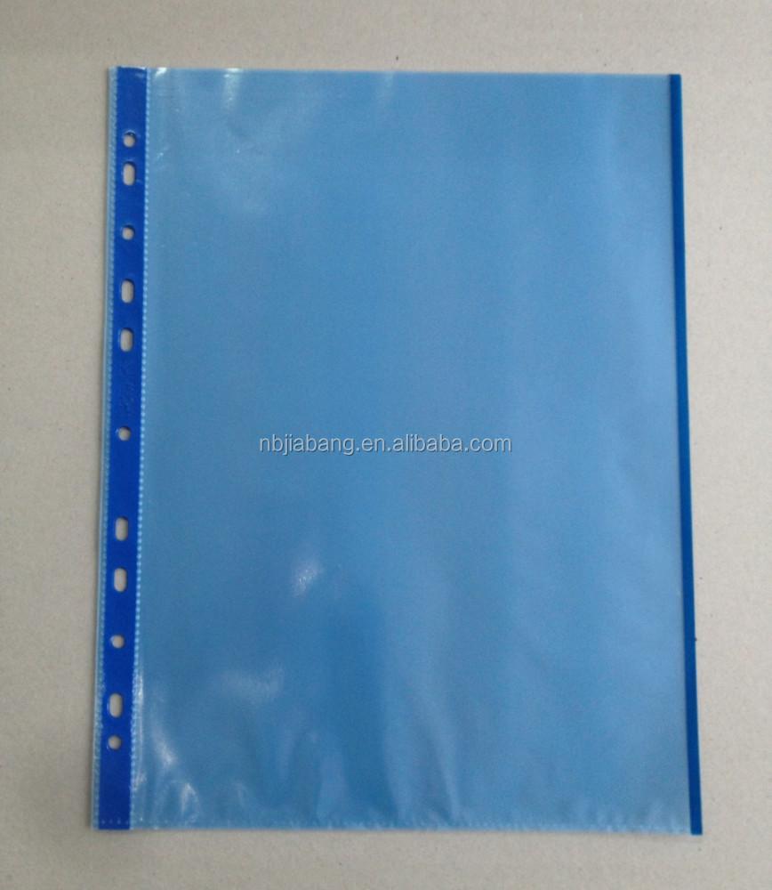 A4 Punched Pocket Sheet Protector, A4 Punched Pocket Sheet Protector ...