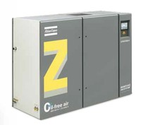 ATLAS COPCO ZT45 oil-free rotary tooth compressors 231CFM