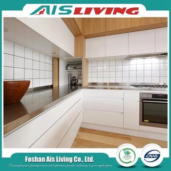 Prices Cheap Melamine Modular Kitchen Cabinets In Kerala (AISKI 76)