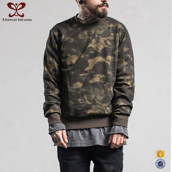 A Forever Fairness New Design Coconut Camouflage Cropped Custom Sweatshirts