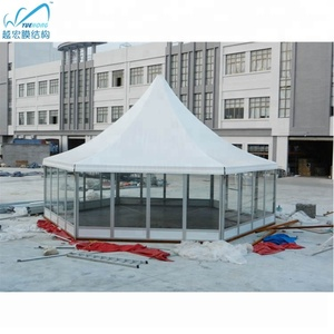 Fireproof 100 people for indian party tent outdoor