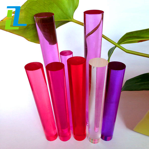 Hot sale high quality transparent Colored Acrylic Rod/Plexiglass Rods/PMMA./pc rods you can buy