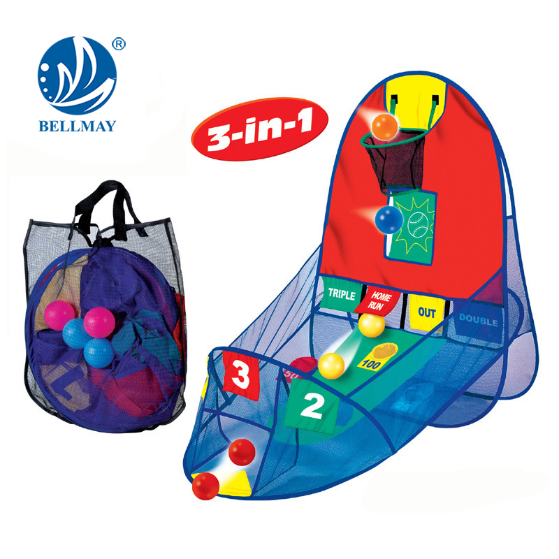 Bemay Toy NEW HOT Tent Foldable Basketball Set kids toys for wholesale