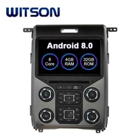 WITSON S200 ANDROID 8.0 QUALITY ANDROID CAR DVD PLAYER FOR FORD F150 2013-2015
