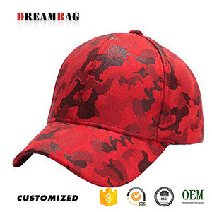 1167ac009 Hot sale mens outdoor sports Guangzhou high quality custom factory direct  sale jungle red camo hat