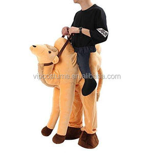 Christmas Halloween Costumes Holiday Party Mens Ride On Fancy Dress camel Mascot Costume