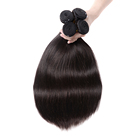 100% Virgin Remy Wholesale Mink Brazilian Double Drawn Human Straight Weft One Donor Raw Cuticle Aligned Hair
