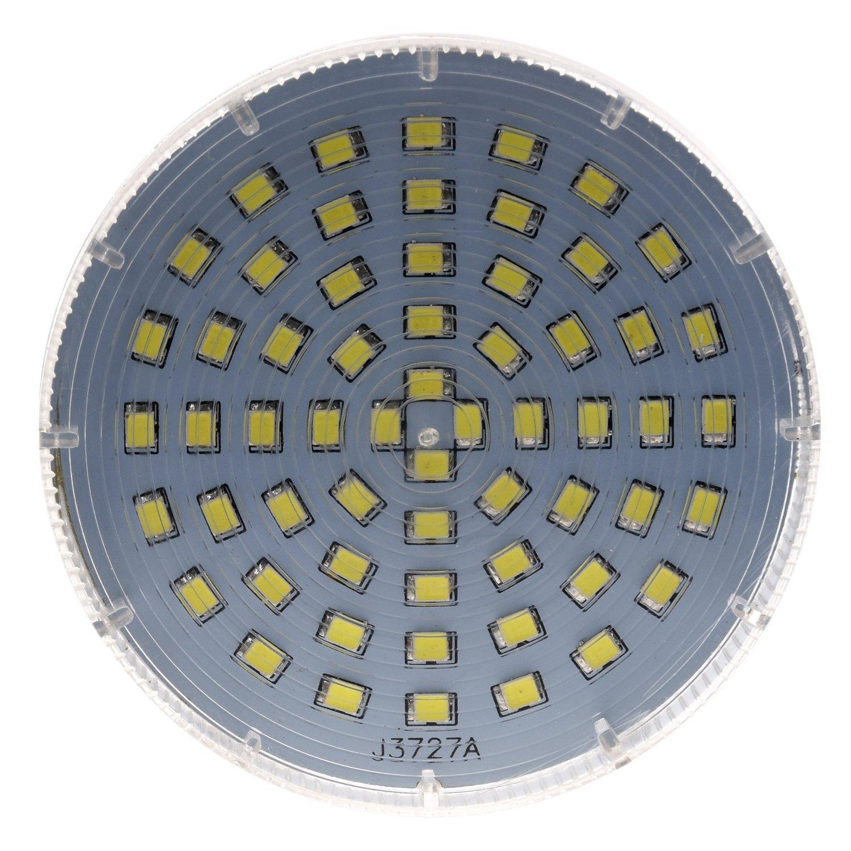 SODIAL(R) GX53 60 LED 3528 SMD 3W White Ceiling Down Light Bulb Lamp Downlight