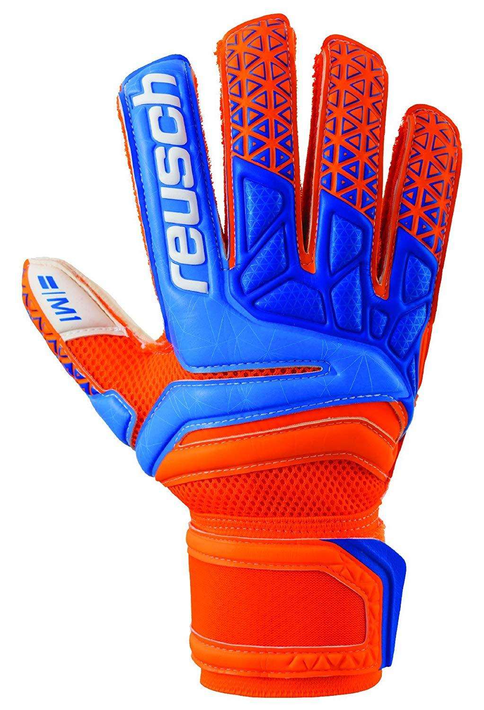 16251b40f Get Quotations · Reusch Soccer Prisma Prime M1 Finger Support Goalkeeper  Gloves
