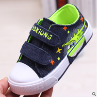 Cute cartoon animation comfortable kids boy shoes