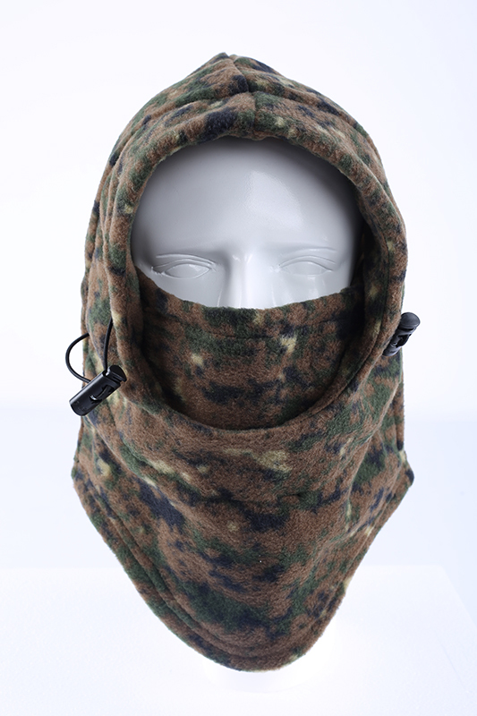 1ac94b8c5b971 Get Quotations · Retail 2015 fashion bionic camo fleece balaclava mens  outdoor sports winter hats windproof hunting hats free