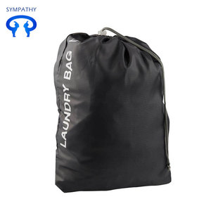 Commercial Drawstring Heavy Duty Folding Nylon Laundry Bag