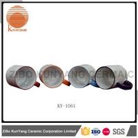 Durable OEM fruit ceramic canister set and coffee mug