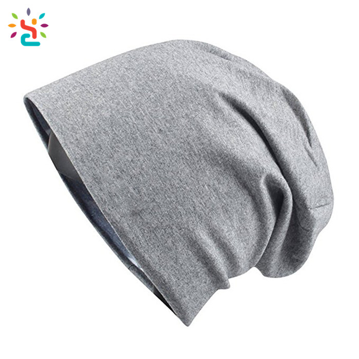 Manufacturer price slouch beanie women beanies hat plain knitted beanie cotton custom tags plain skull cap