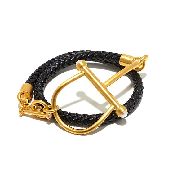 Catherine Canino Jewelry The Jon and Bee Equestrian Wrap Bracelet
