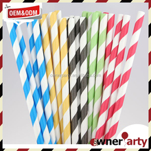 Eco Friendly Party Favors Yellow Straws