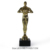 Custom gold Oscar metal plated trofee