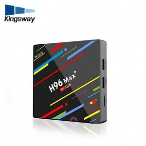High Quality Factory Price H96 MAX H2 4g+64g RK3328 Quad-Core Dual Band Wifi Android 8.1 Smart TV Box