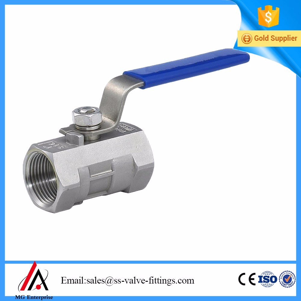 1pc NPT threaded ball valve with high quality