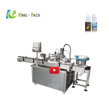 Auto Medical Apply Plastic Eye Drop Filling Machine