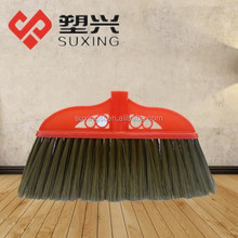 soft bristle plastic broom and mop holder