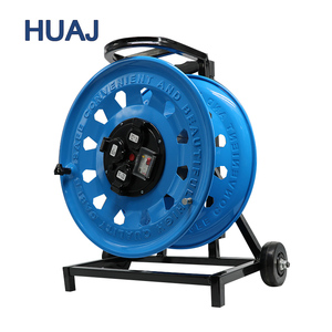 China suppliers Competitive Price 220V 50M Flame Retardant Retractable Cable Reel