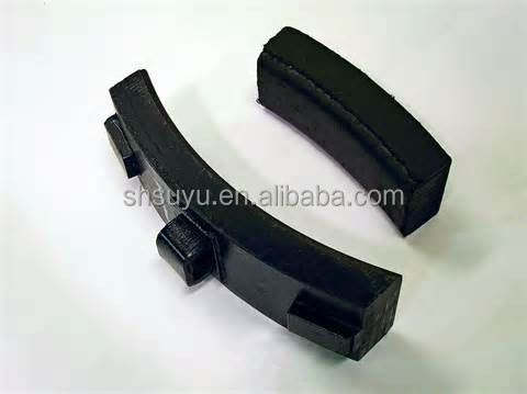 Suyu high friction composited brake shoe for rail