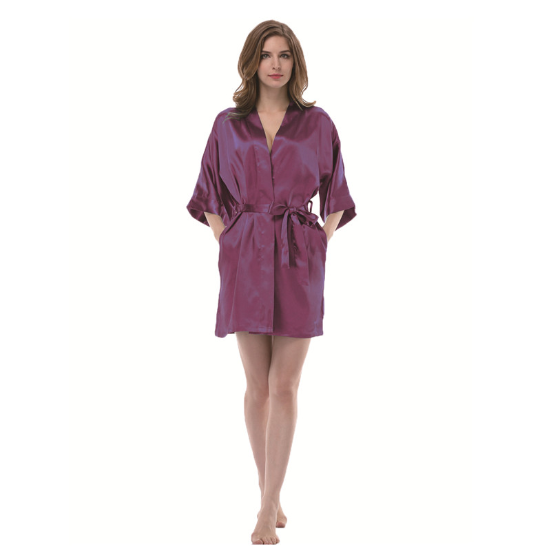 Wholesale Colorfulkoala Women Satin Solid Color Kimono Robe Silk ... 7c850b35f