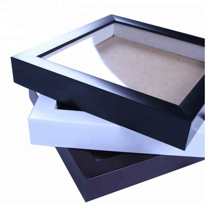 "8*10"" PS Black or White shadow box photo picture frames made in China"
