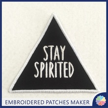 Custom 3D Puff Embroidery Patches Iron on Online design patches maker
