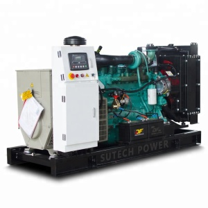 Powered by Cummins engine 6BTAA5.9-G12 diesel generator set 165 kva 132 kw price