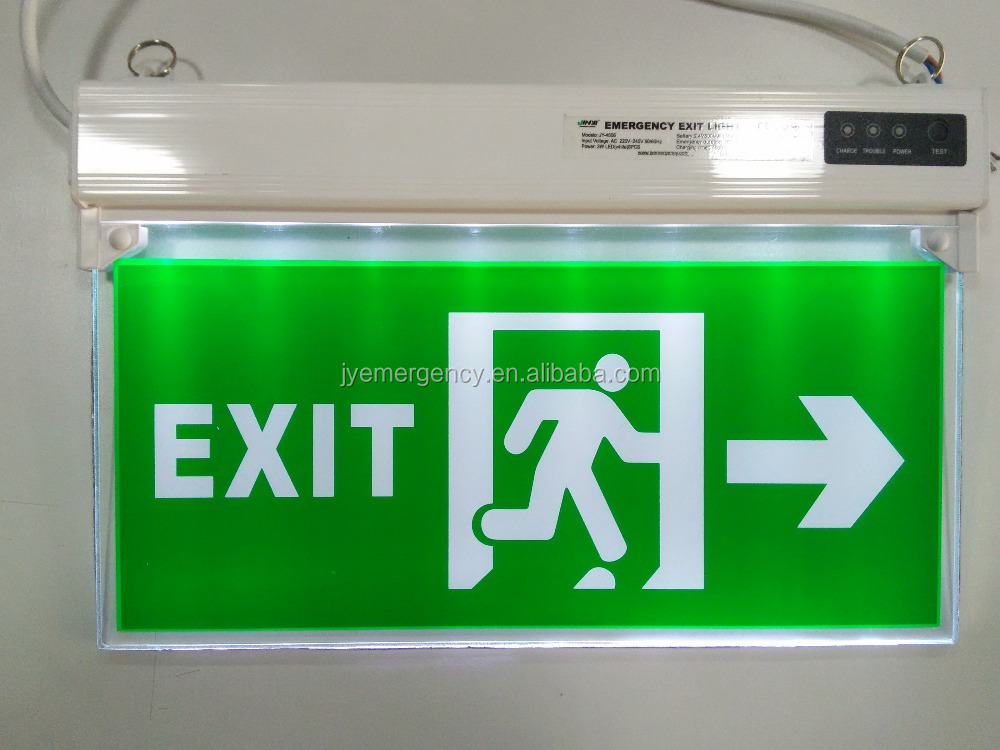 Best Selling Lasting 120 Minutes Led Emergency Light Exit Sign