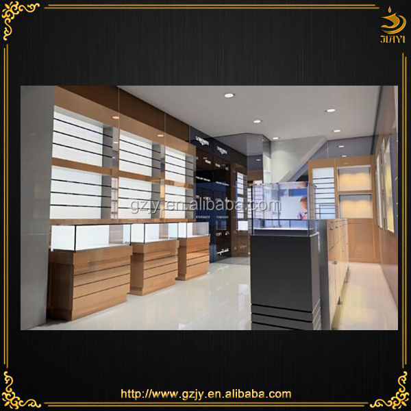 2018 Modern Optical Store Design With Eyewear Showcase And Wall