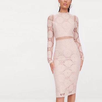 Summer New Design Lace Crochet Elegant Dress Free Crochet Dress