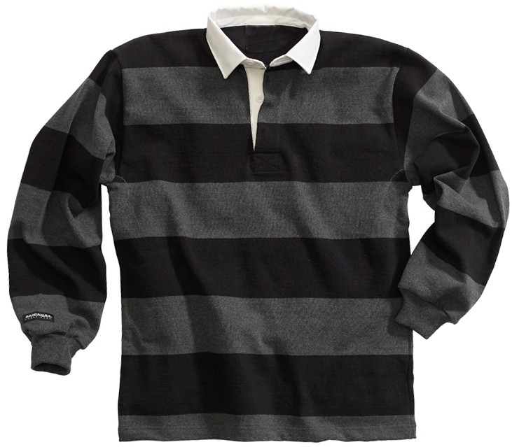47babad1 100 % Pre-shrink Heavy Cotton Striped Cheap Wholesale Rugby Shirts For men  / Mens