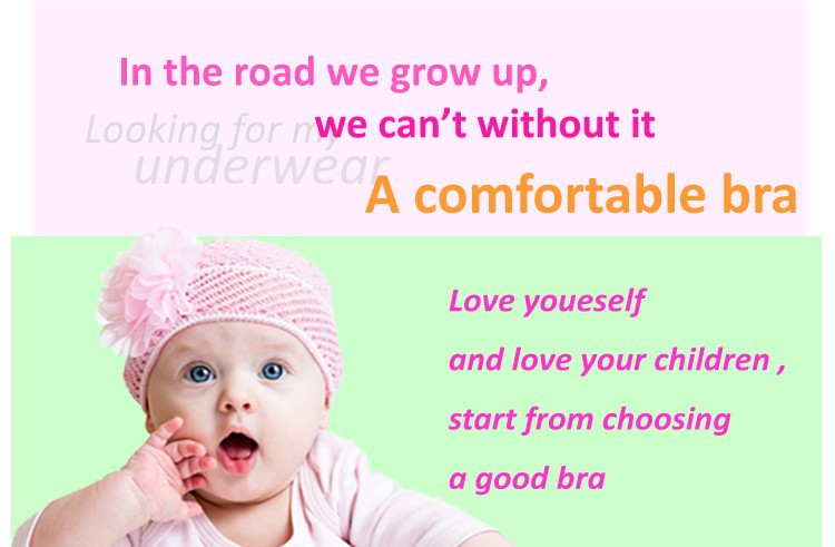 0e4ccb7330 Wholesale Pink Or Gray 2015 Summer Style Cotton Training Bras For 9 ...