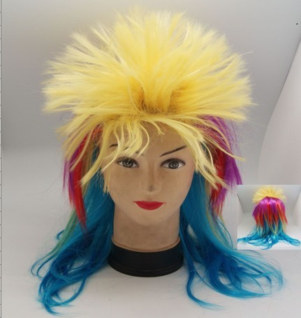 customized world cup periwig football fans wig cute japanese hair accessories