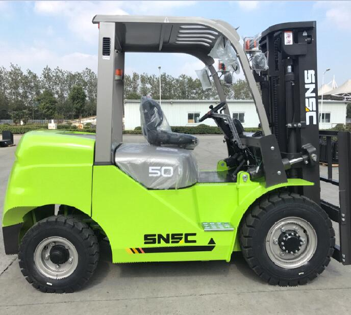 New condition mini 5tons fork lift with CE certificate for sale