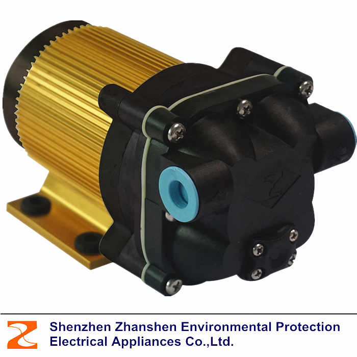 B Series Brushless 4 Chamber Diaphragm Large Flow RO Booster Water Pressure Pump