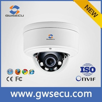 Vandalproof IP66 Dome HD 3MP/4MP/5MP H.265 IP camera with POE,P2P Hisilicion and solution